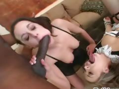 Brutal black dick and anal...