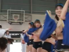 Horny asian babes go crazy...